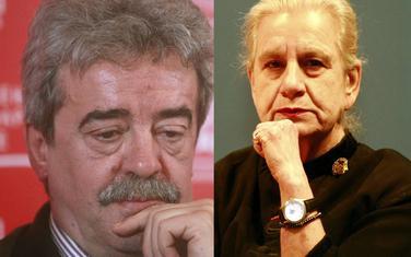 Momir Bulatović i Borka Pavićević