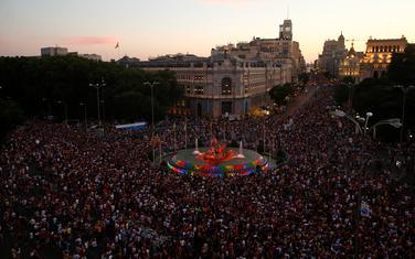Sa parade u Madridu