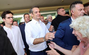 Micotakis nakon glasanja