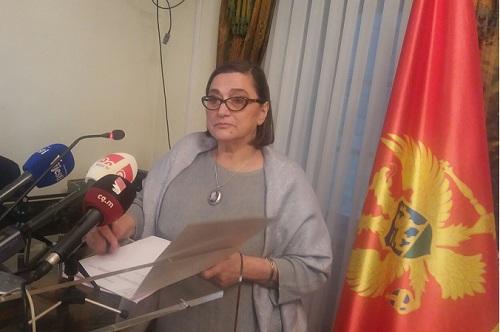 Predsjednica DSS Dragica Perović
