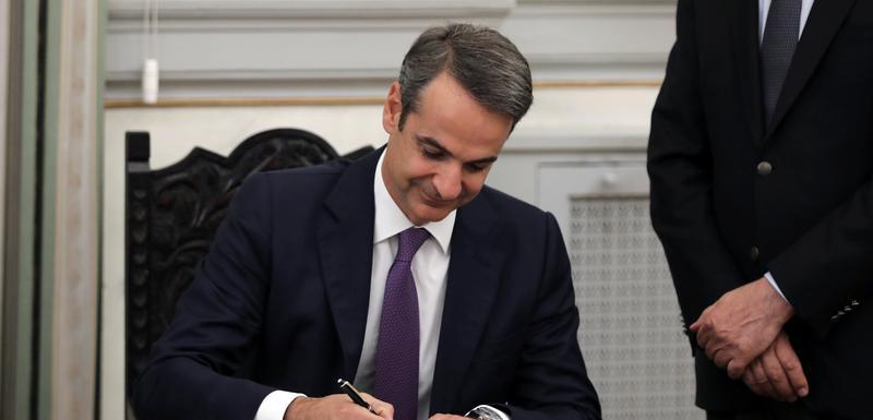 Micotakis prima dužnosti novog grčkog premijera
