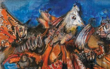 Jedna od prepoznatljivih slika iz opusa Jova Ivanovića