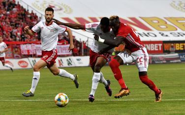 Sa utakmice CSKA - OFK Titograd