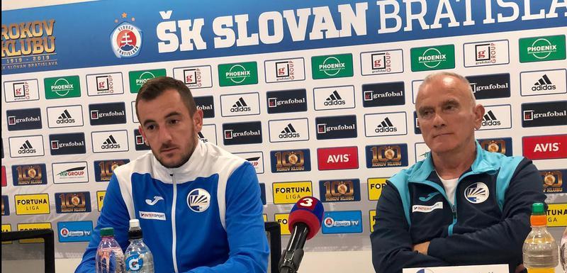 Branislav Janković i Nikola Rakojević na pres konferenciji