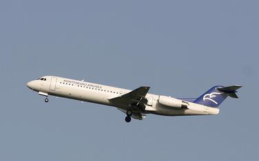 Avion Montenegro Erlajnsa (Ilustracija)