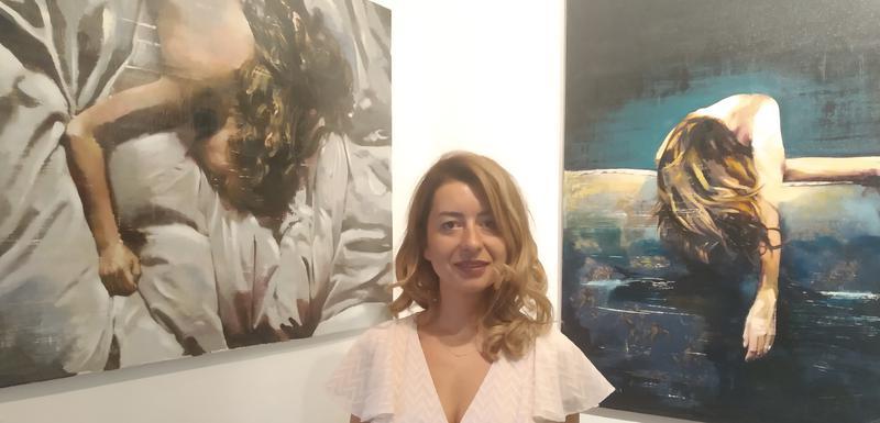 Ana Golović na otvaranju izložbe