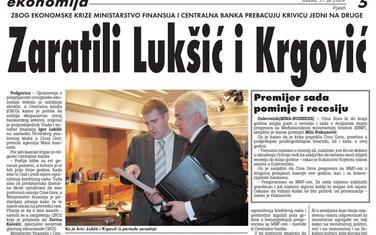 Vijesti, 11. jul 2009.
