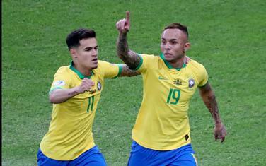 Everton slavi jedan od tri gola na Kopa Americi
