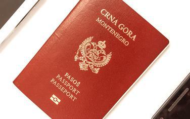 Projekat startovao 1. januara: Crnogorski pasoš