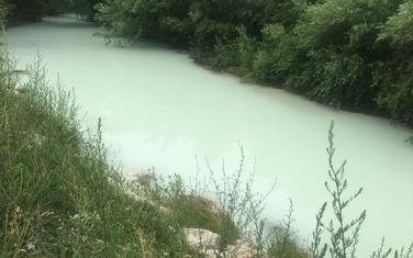 Zamućena voda nakon ekološkog incidenta