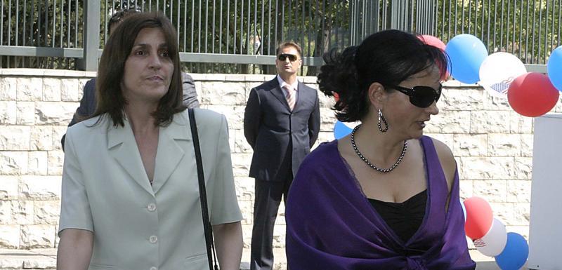 Stojanka Radović i Vesna Medenica (arhiva)