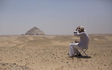 Piramida u Egiptu: Ilustracija