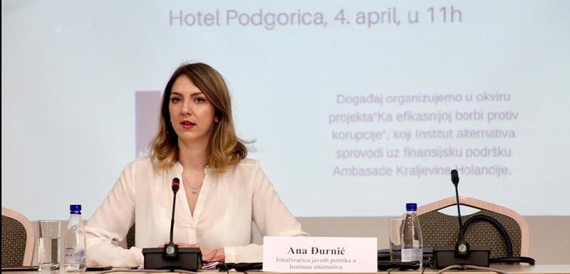 Nazaduje transparentnost javnih nabavki: Đurnić
