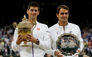 Đoković se nada reprizi 2014. i 2015, Federer traži recept iz polufinala 2012: Poziranje s peharima prije četiri godine