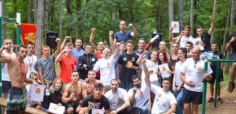 Učesnici street workout & calisthenics takmičenja