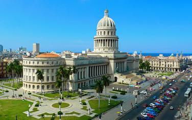 Zgrada kubanske skupštine u Havani