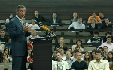 Đukanović na izbornoj konferenciji mladih