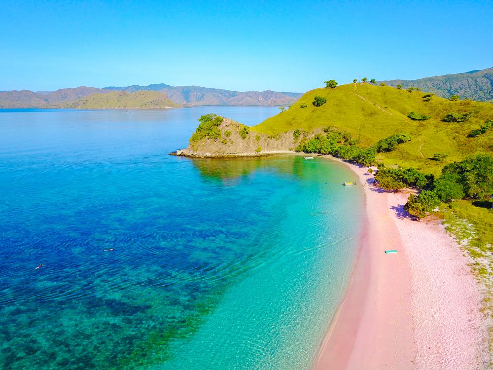 Pink plaža, Bahami (foto: Shutterstock)