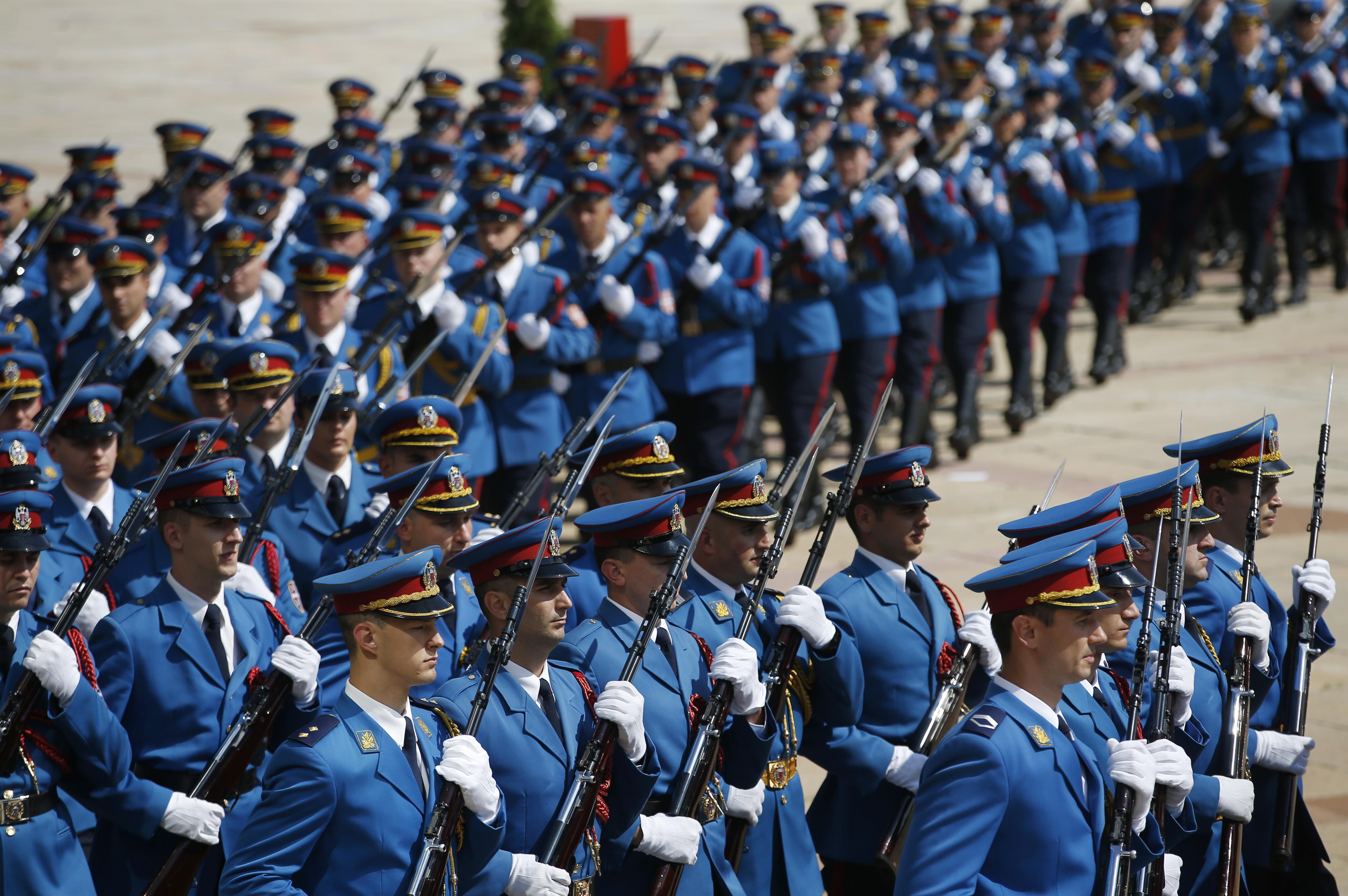 Svečani doček u Beogradu (foto: Betaphoto/AP)
