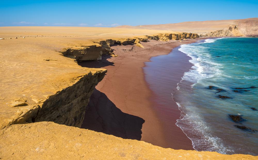 Crvena plaža, Peru (foto: Shutterstock)