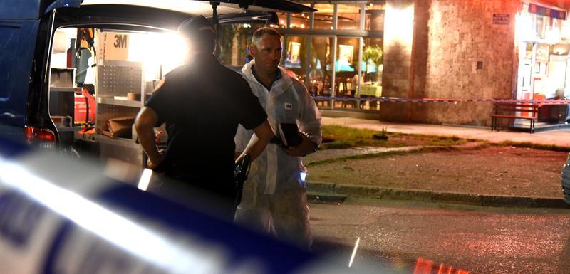 Sa uviđaja policije poslije napada na Lakićevu