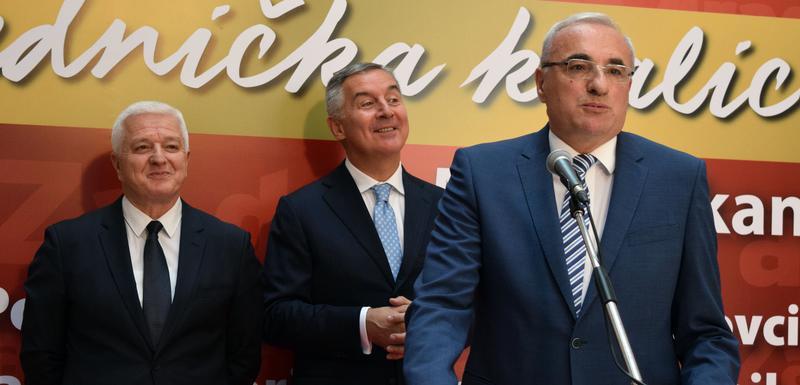 Marković, Milošević i Đukanović