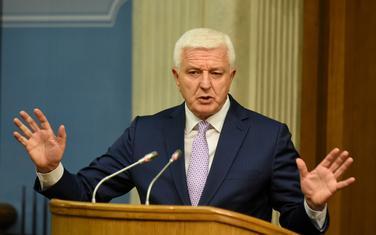 Duško Marković na današnjem premijerskom satu