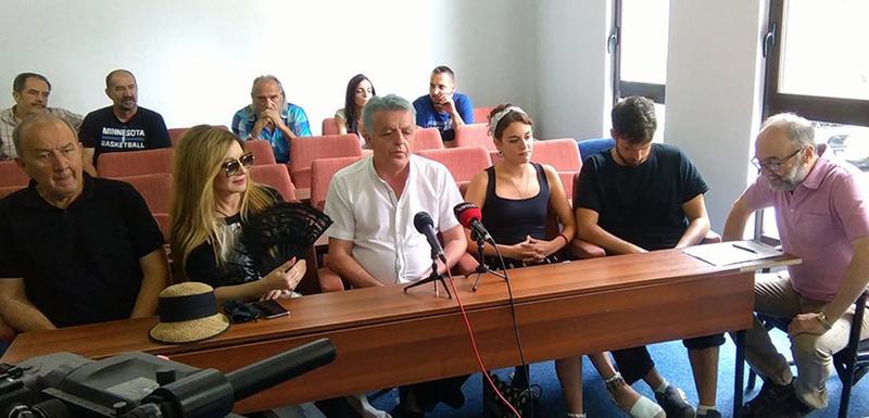Sa konferencije za novinare u Baru