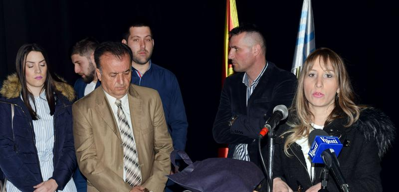 Slađana Kaluđerović sa opozicionim kolegama