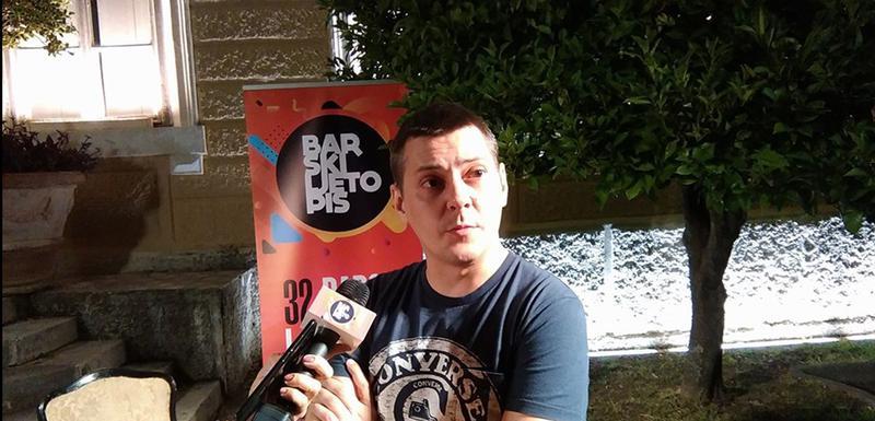 Marko Šelić Marčelo na gostovanju u Baru
