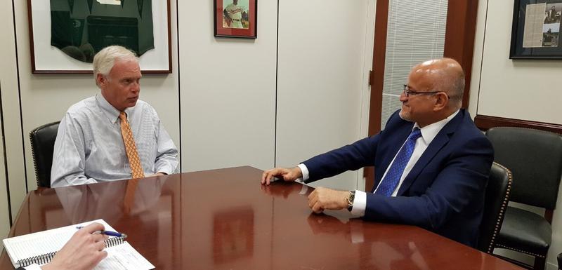 Sa sastanka Darmanovića i Džonsona