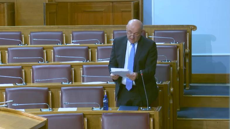 Radunović danas u parlamentu