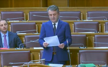 Nuhodžić u Skupštini Crne Gore