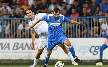 Branislav Janković na meču protiv Slovana