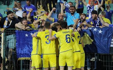 Fudbaleri Kosova slave pobjedu nad Bugarskom