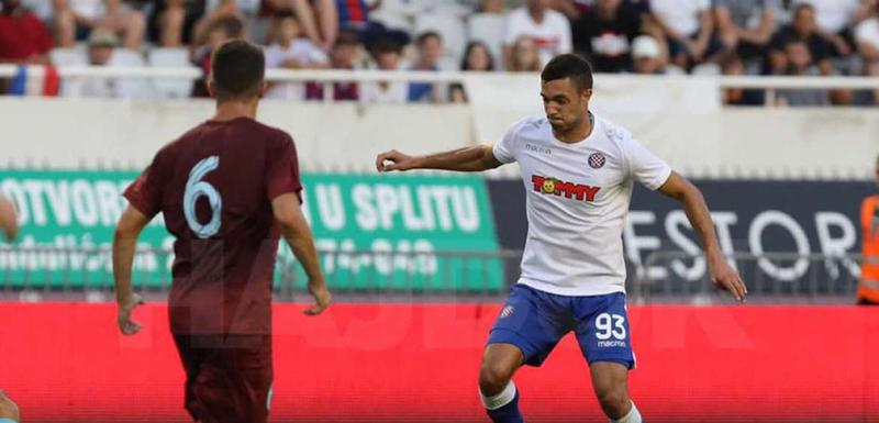 Sa utakmice Hajduk - Gzira