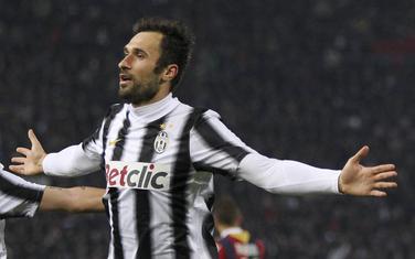Mirko Vučinić u dresu Juventusa