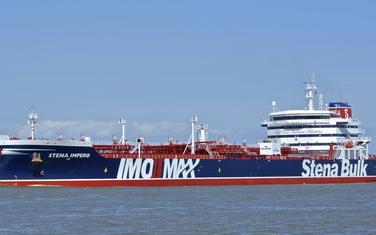 Zaplijenjeni tanker