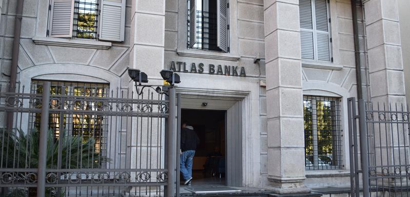 U stečaju od aprila: Atlas banka