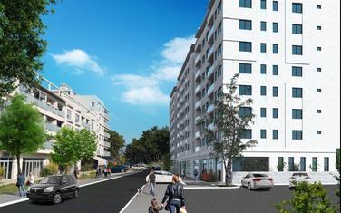 Buduća stambena zgrada u Ulici Baku u Podgorici, idejno rješenje, pogled u pravcu sjevera