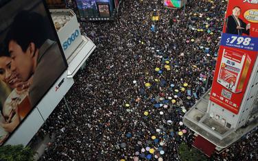 Sa protesta u Hong Kongu