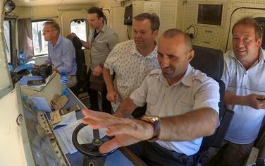 U kabini lokomotive