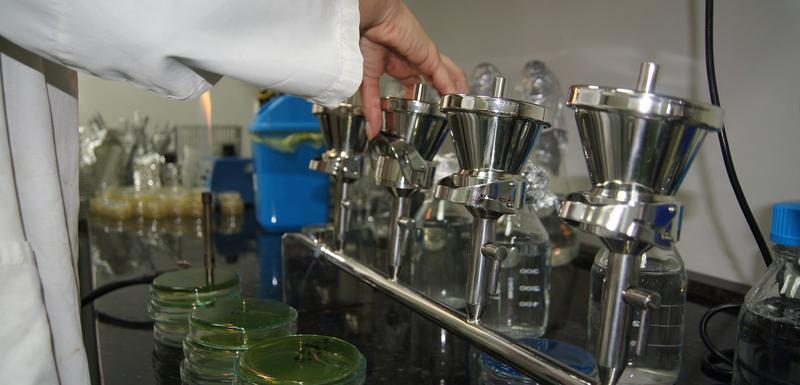 Analiza vode (ilustracija)