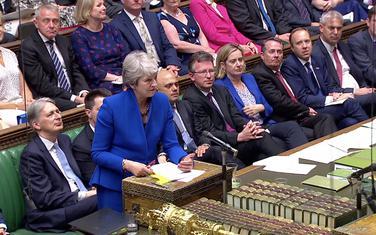 Tereza Mej u parlamentu