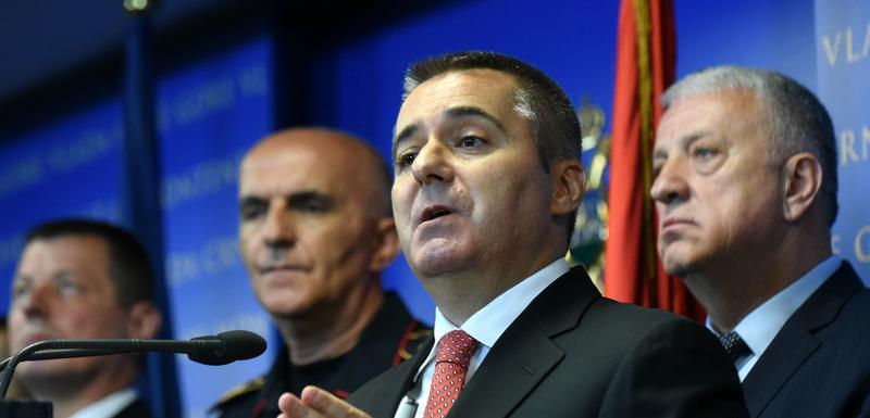 Veljović na današnjoj pres konferenciji