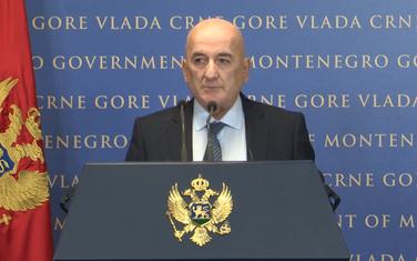 Nurković na pres konferenciji u Vladi