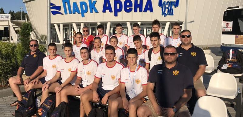 Mladi vaterpolisti Crne Gore