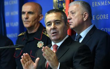 Poručio kriminalcima da se smire: Veljović na jučerašnjoj pres konferenciji Uprave policije