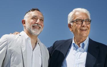 Hashim Sarkis (lijevo) i Paolo Baratta
