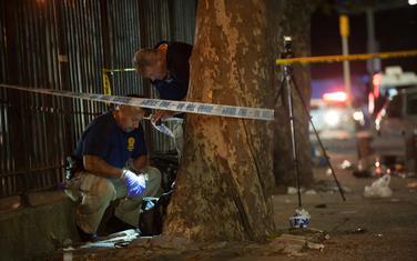 Pripadnici njujorške policije na mjestu pucnjave